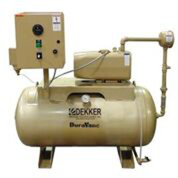 Oilless Rotary Vane Vacuum Systems