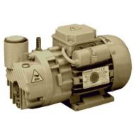 0.2 HP Lubricated Rotary Vane Vacuum Pump | 2.6 ACFM | 110 Volt, 1-Phase | RVL003H