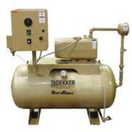 5 HP Dry Rotary Vane Vacuum Pump System | 56 ACFM | 80 Gallon Tank | RMD060T1-00-CS