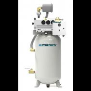 Powerex 1.5 HP Rotary Vane System, 6 SCFM @ 19