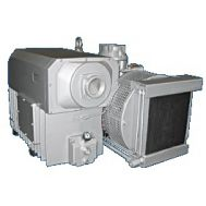 330 CFM - 15 HP Oil Flooded Rotary Vane Vacuum Pump 208-230/460V | L 400C