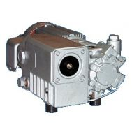 7 CFM - 3/4 HP Oil Flooded Rotary Vane Vacuum Pump 208-230/460V | L 12