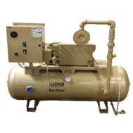 2 HP Lubricated Rotary Vane Vacuum System | 28 ACFM | 60 Gallon Tank | RML031T1-00-BS