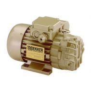 DEKKER 0.25 HP, 2 ACFM Oil-Free Rotary Vane Vacuum Pumps 230/1/60 | RVD002L (230V)