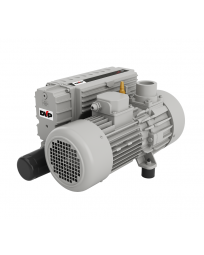 "DVP, 1.8 HP, 28.3 CFM, 29.92"" HgV, 66 dB(A) Oil Lubricated Rotary Vane Vacuum Pump IE3-208-220-240/50-60Hz 