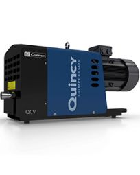 "3 HP Quincy Dry Claw Vacuum Pump 46 ACFM, 28.4 Max Vacuum Level ""HgV 