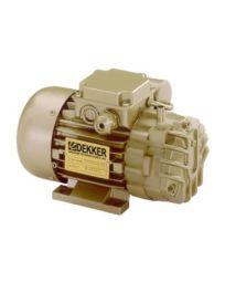 DEKKER 0.25 HP, 2 ACFM Oil-Free Rotary Vane Vacuum Pumps 115/1/60 | RVD002L